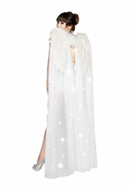 Rhinestone Double Layered Angel Wings