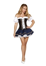 Adult Beer Maiden Sexy Women Costume