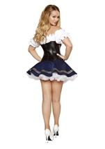 Beer Maiden Sexy Women Halloween Costume