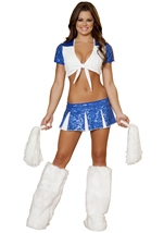 Adult Charming Cheerleader Womens Costume