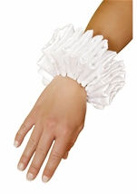 Ruffled Women Wrist Cuffs
