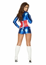Sexy All American Woman Super Hero Halloween Costume