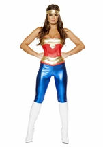 Comic Cutie Woman Super Hero Costume