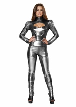 Adult Mechanical Maiden Woman Super Hero Costume