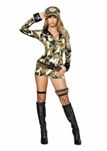 Sexy Soldier Women Costume