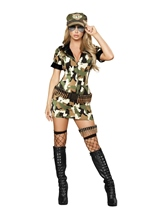 Militia Babe Women Sexy Halloween Costume
