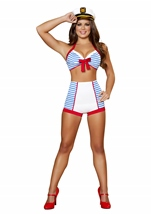 Playful Pinup Sailor Women Costume