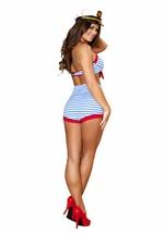 Playful Pinup Sailor Women Halloween Costume