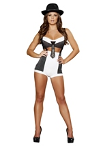 Adult Mobster Mama Women Gangster Costume