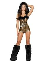 Lovely Leopard Sexy Women Halloween Costume