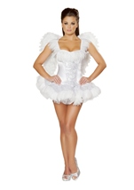 Swan Seductress Women Costume