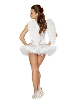 Swan Seductress Women Halloween Costume