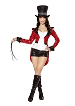 Radiant Sequin Ring Master Woman Costume