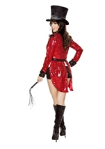 Adult Radiant Sequin Ring Master Woman Costume