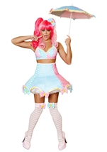 Lady Laughter Woman Circus Clown Sexy Costume