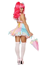 Adult Lady Laughter Woman Circus Clown Sexy Costume