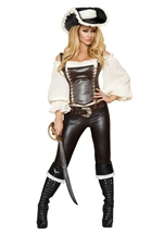 Adult Seductive Pirate Wench Women Costume