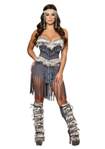 Indian Hottie Women Deluxe Native American Costume