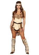 Native American Indian Mistress Women Halloween Costume