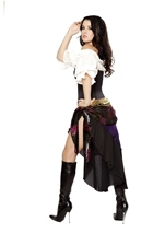 Gypsy Mistress Women Deluxe Halloween Costume