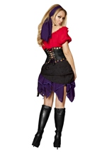 Seductive Gypsy Women Halloween Costume
