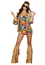 Hippie Hottie Women Costume