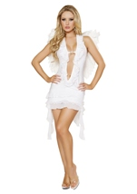 Angelic Maiden Women Sexy Angel Costume