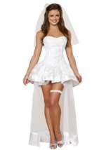 Beautiful Bride Woman Costume
