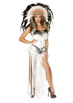 Native American Indian Woman Cherokee Mistress Costume