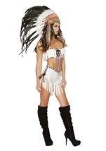 Adult Native American Indian Women Tribal Princess Costume