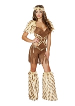 Adult Native American Indian Women Warrior Costume