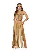 Native American Indian Women Cherokee Hottie Costume