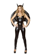 Bat Woman Sexy Superhero Costume