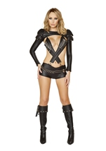 Mercenary Sexy Women Police Costume