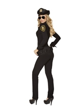 Sexy Law Enforcer Women Police Halloween Costume