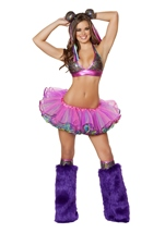 Sexy Circus Clown Women Halloween Costume