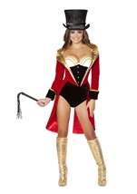 Naughty Ringleader Women Costume