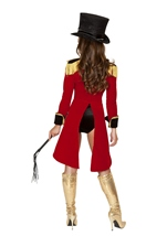 Adult Naughty Ringleader Women Costume
