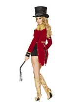 Adult Seductive Circus Leader Women Costume