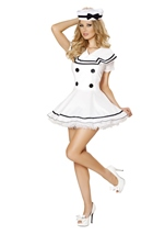 Sexy Sailor Maiden Women Costume