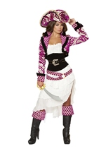Precious Pirate Women Deluxe Costume