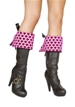 Precious Pirate Deluxe Boot Cuffs