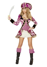 Seductive Pirate Captain  Women Deluxe Costume