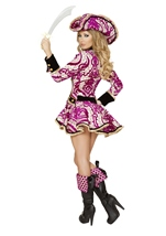 Adult Pirate Captain Woman Deluxe Costume