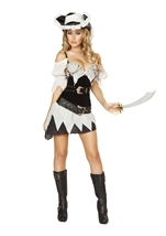 Shipwrecked Pirate Woman Sailor Costume