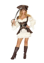 Naughty Ship Wench Pirate Women Costume