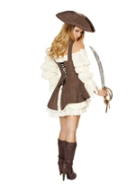 Naughty Ship Wench Pirate Women Halloween Costume