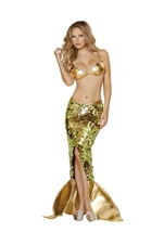 Sea Siren Mermaid Woman Costume