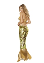 Sultry Sea Siren Mermaid Woman Halloween Costume