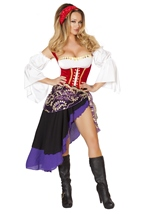 Adult Gypsy Maiden Woman Costume